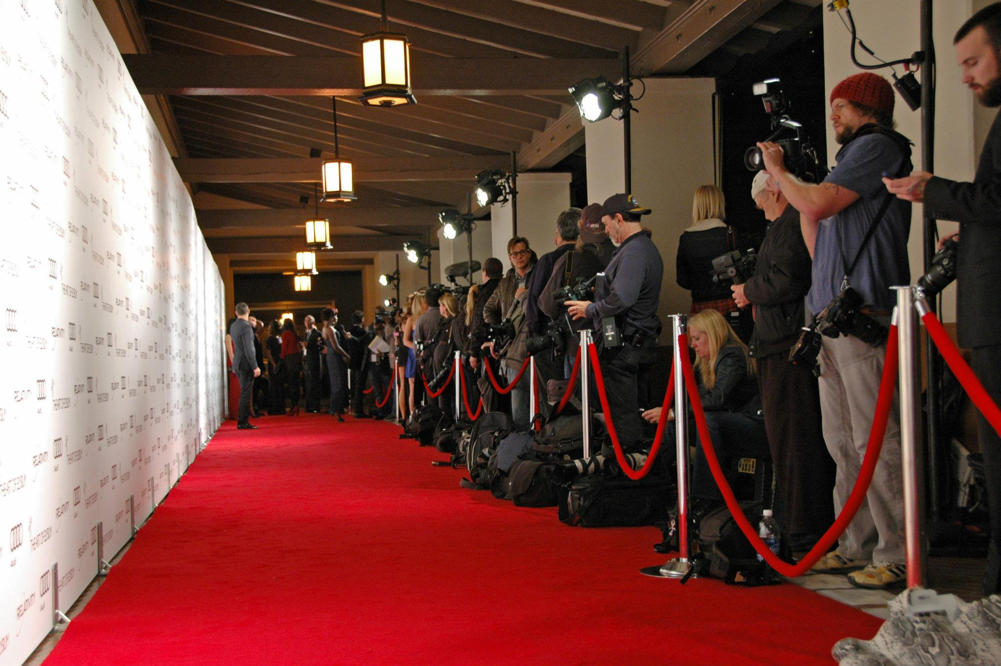 Prestige event production package red carpet systems - Red carpet photographers ...