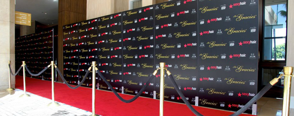 Los Angeles Step amp Repeat Banners Red Carpet Rental