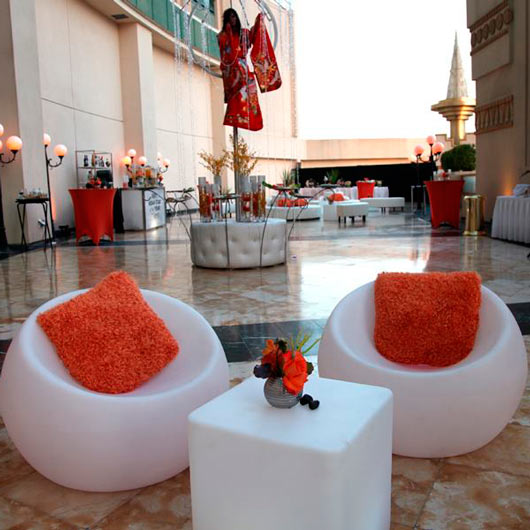 Event Furniture Rental For Red Carpets Parties In Los Angeles Las