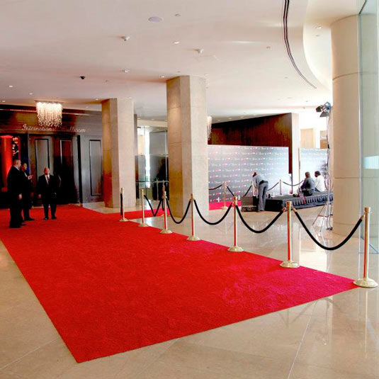 Red Carpet Runner Black Event Hollywood