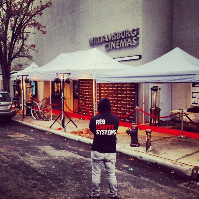 New York Step and Repeat, Red Carpet and event production services