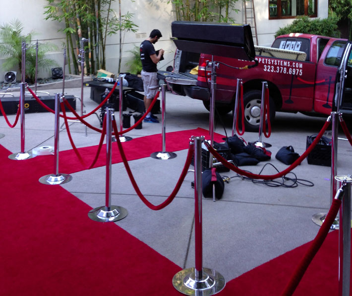 Velvet Rope Amp Stands Set Rental For Los Angeles Nyc