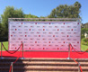 Step and Repeat with truss frame - Redcarpetsystems.com