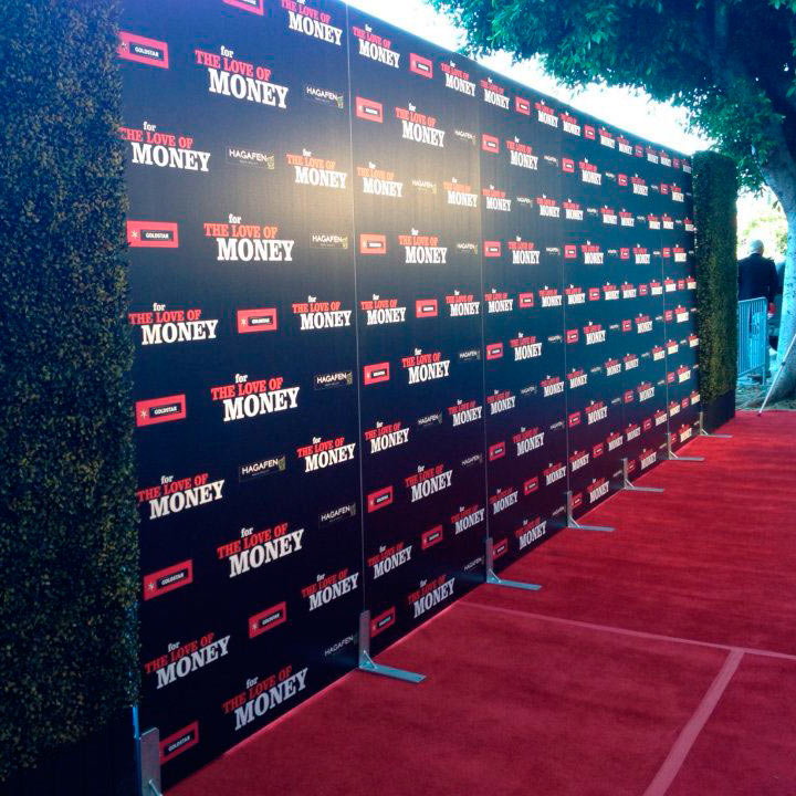 8x24 Step And Repeat Backdrop Custom Banner Printing By