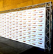 Red carpet premiere step and repeat banner