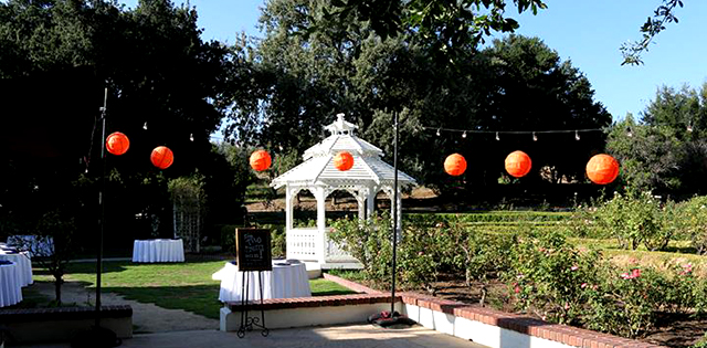 Event Production Services For Wedding In Chatsworth San