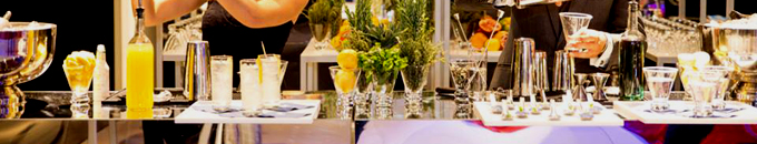 Mirrored Bar, Shelves and Table Rentals for Events