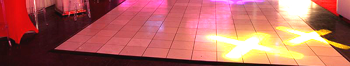 Dance Floor Rental for Los Angeles Parties
