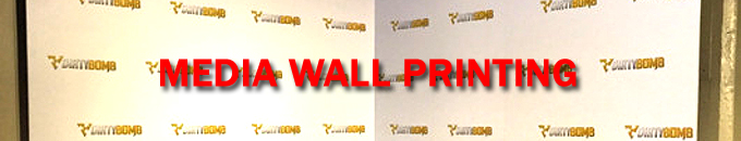 Media Wall Printing in Los Angeles