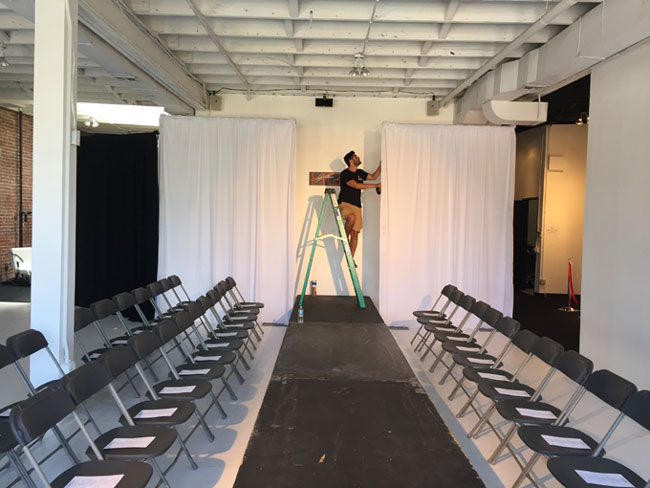 Fashion Show In Hollywood Runway Rental Amp Setup
