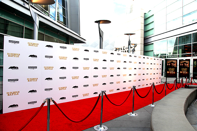 Step and Repeat Frame Rental - Red Carpet Systems