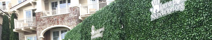 Branded Green Privacy Hedges