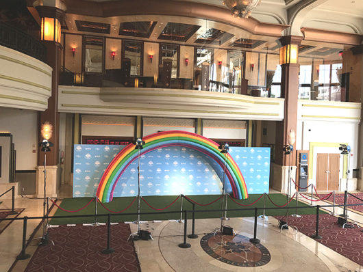 rue and the Rainbow Kingdom premiere arrival