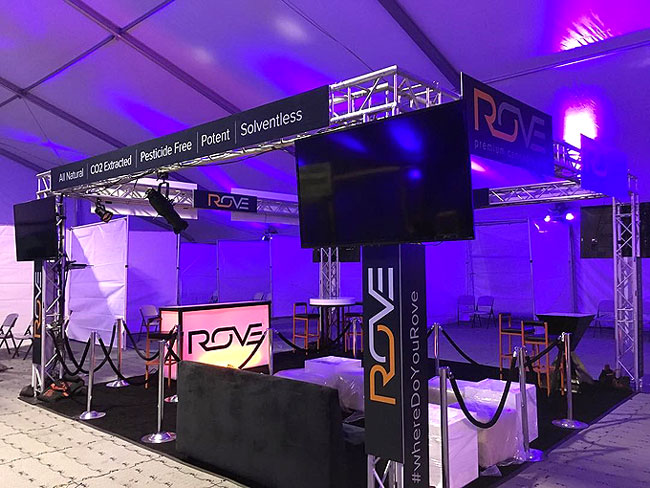 Custom Trade Show Booth for ROVE